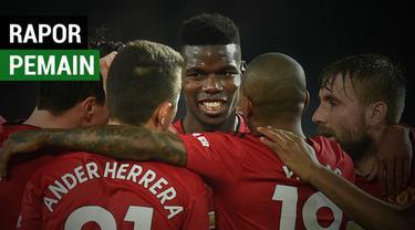 Berita video nilai rapor pemain Manchester United saat mengalahkan Huddersfield 3-1 dalam lanjutan Premier League 2018-2019, Rabu (26/12/2018).