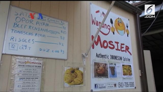 Mosier adalah kota kecil yang berjarak sekitar 1 jam berkendara dari Portland, di negara bagian Oregon. VOA