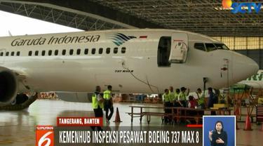 Hingga kini, petugas masih melakukan rampchek terhadap 10 pesawat Boeing 737 Max 8 milik Lion Air.