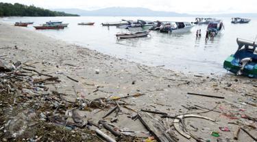 Ilustrasi Sampah Laut