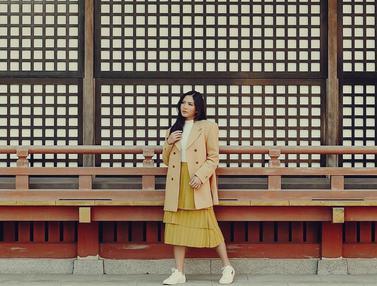 FOTO: Momen Seru Liburan Jessica Milla Saat Ke Negeri Sakura