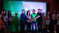 Go-Jek Resmi Dukung IBL 2017-2018 (Liputan6.com/Thomas)