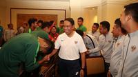 Menteri Pemuda dan Olahraga (Menpora) Zainudin Amali berharap Timnas Indonesia U-23 bisa meraih hasil positif di SEA Games 2019 Filipina.
