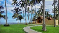 Banyuwangi meluncurkan paket wisata buka puasa di tepi pantai berlatar Selat Bali. (Liputan6.com/Dian Kurniawan)