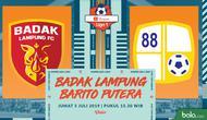 Shopee Liga 1 - Perseru Badak Lampung FC Vs Barito Putera (Bola.com/Adreanus Titus)
