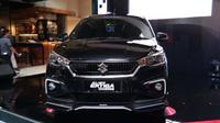 All New Ertiga Suzuki Sport tampil lebih agresif. (Dian Tami/Liputan6.com)