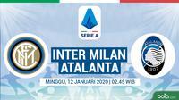 Serie A - Inter Milan Vs Atalanta (Bola.com/Adreanus Titus)