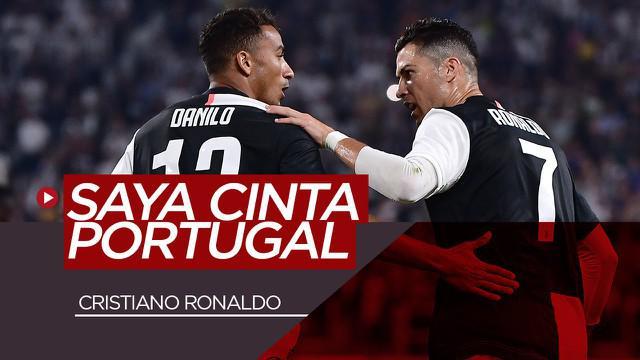 Berita Video dianggap Danilo lebih sukses jika membela timnas Brasil, inilah jawaban Cristiano Ronaldo