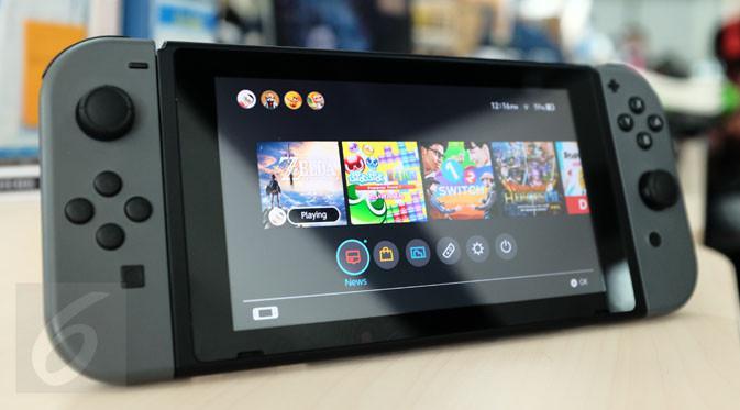 Tips cara pindahkan data gim Nintendo Switch ke microSD. (Liputan6.com/ Iskandar)