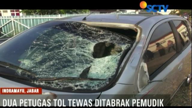 Kejadian bermula, saat minibus warna abu-abu melaju kencang dari arah Bandung menuju Cirebon.