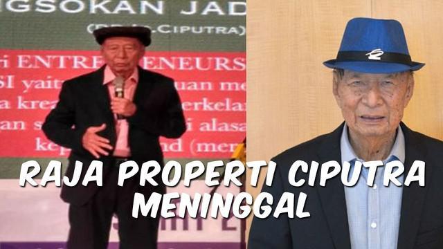 Vidoe Top 3 hari ini ada berita terkait tanggapan Agnez Mo soal darah Indonesia, pengusaha Ciputra meninggal, dan rusa mati dengan perut penuh sampah.