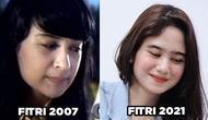 Pemeran Utama Cinta Fitri, Ini 6 Beda Gaya Tissa Biani Vs Shireen Sungkar Dulu (sumber: YouTube MD Entertainment Instagram/tissabiani)
