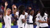 Amandine Henry memastikan kemenangan Prancis atas Brasil pada laga perdelapan final Piala Dunia Wanita 2019. (AFP/Frank Fife)