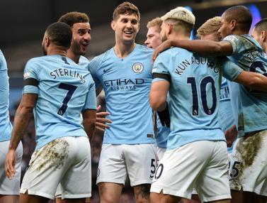 Manchester City Kembali Kudeta Liverpool