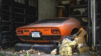 Lamborghini Miura, mobil eksotis yang dibuat antara 1966-1973 ditemukan dengan kondisi mengenaskan disebuah gudang. (Hotcars)