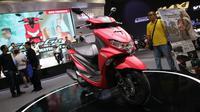 Yamaha FreeGo motor terbaru yang meluncur di ajang Indonesia Motorcycle Show 2018, JCC, Senayan, Jakarta, Rabu (31/10/2018)