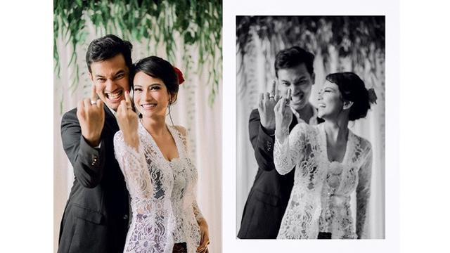 Pernikahan Vanessa Angel dan Febri Ardiansyah