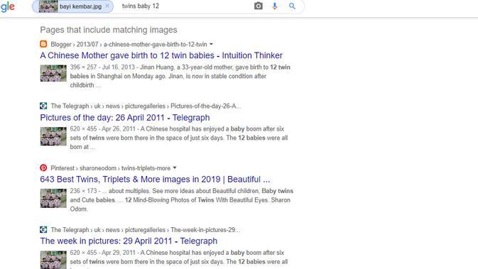 [Cek Fakta] Ibu Terpaksa Membunuh 11 dari 12 Bayi Kembar yang Dilahirkan? Ini Faktanya