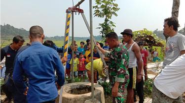 Hirup Gas Beracun, Dua Warga  di Purwakarta Tewas Dalam Sumur