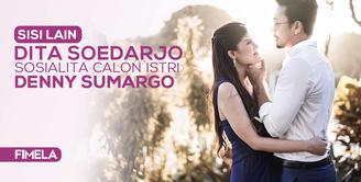 Sisi lain Dita Soedarjo, Sosialita calon istri Denny Sumargo
