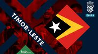 Piala AFF 2018 Timnas Timor-Leste (Bola.com/Adreanus Titus)