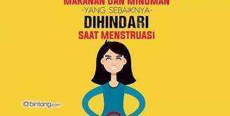 Jenis Makanan dan Minuman yang Berbahaya pada Saat Menstruasi