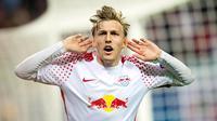 1. Emil Forsberg - RB Leipzig. (AFP/Robert Michael)