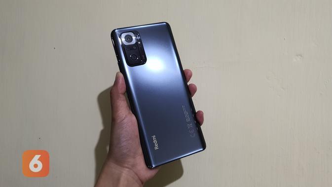 Redmi Note 10 Pro (Liputan6.com/ Agustin Setyo W)