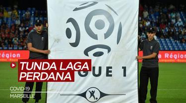 Berita Video Laga Pembuka Ligue 1 2020/2021 Harus Ditunda Setelah 4 Pemain Marseille Positif COVID-19