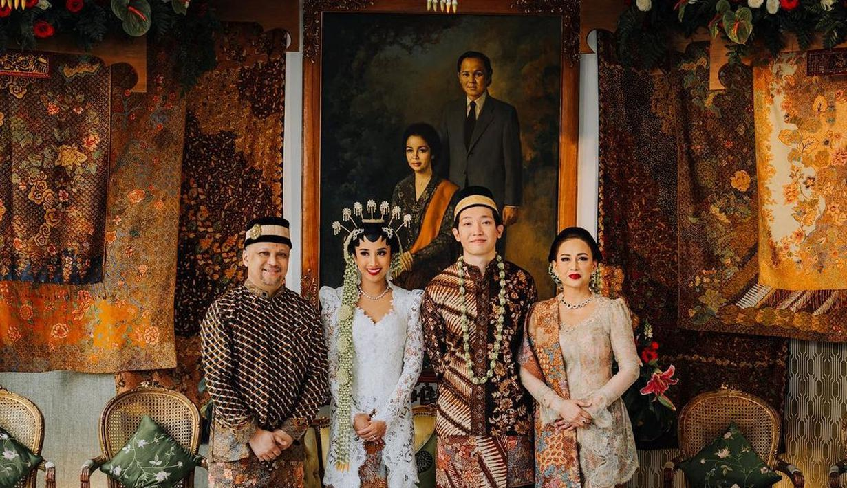 Pernikahan Nadia Sofia Cucu BJ Habibie. (Instagram/ilham.a.habibie)