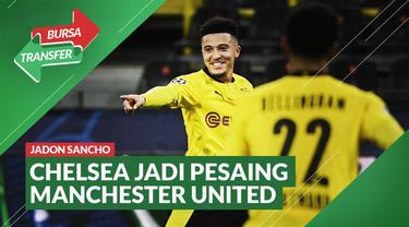 Berita video, Chelsea ikut bersaing dengan Manchester United dalam perburuan Jadon Sancho