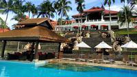 Tingkat hunian kamar hotel dan apartemen di sekitar venue KasmaRUN 2018 and Pesta Tahun Baru 2019 yakni Lagoi Bay, Bintan, Kepulauan Riau, meningkat drastis.