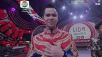 Faul asal Aceh menjadi Juara LIDA 2019 di Konser Kemenangan LIDA 2019 Indosiar, Sabtu (4/5/2019) dini hari