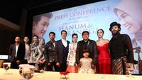Preskon film Hanum Dan Rangga (Deki Prayoga/Fimela.com)