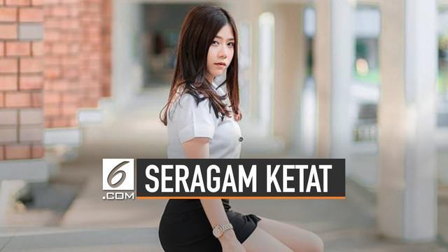 Thailand tetapkan aturan baru bagi para pelajar terkait modifikasi seragam ketat dan rok pendek.