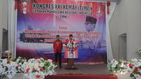 Imanuel Cahyadi terpilih sebagai ketua umum GMNI  DPP GMNI periode 2019-2021 dan Sujahri Somar sebagai Sekretaris Jenderal (Sekjen).