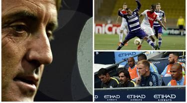 Kabar transfer terkini, Senin (15/8/2016), diwarnai keinginan Roberto Mancini untuk melatih Arsenal menggantikan Arsene Wenger serta niat Jose Mourinho mendatangkan wonderkid Belgia, Youri Tielemans. (AFP)