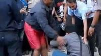 Empat orang tewas di tempat akibat granat meledak saat berlangsung pelatihan keamanan kampus.