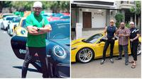 Potret Ahmad Sahroni dengan Mobil Mewah, Crazy Rich Tanjung Priok (sumber:Instagram/@ahmadsahroni88)