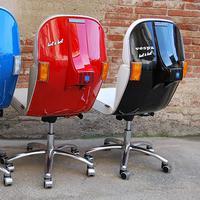 Jika kamu pecinta skuter, jangan lihat kursi vespa ini kalau nggak mau 'mupeng'~