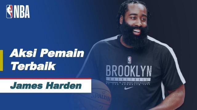 Berita video saat James Harden menghasilkan 34 poin, sex rebound, dan 12 assist dalam kemenangan Nets 125-123 atas Bucks.
