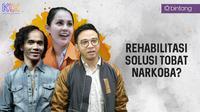 Kaka Slank, Jennifer Dunn, dan Roby Satria (Foto: Bintang Pictures/Desain: Muhammad Iqbal Nurfajri/Bintang.com)
