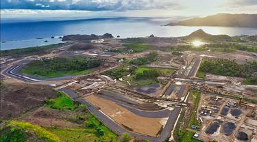 Pembangunan Sirkuit Mandalika untuk MotoGP Indonesia Hampir 50 Persen