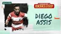 Wawancara Eksklusif - Diego Assis. (Bola.com/Dody Iryawan)