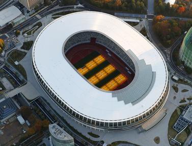 Selesai Direnovasi, Begini Penampakan Megahnya Stadion Olimpiade Tokyo