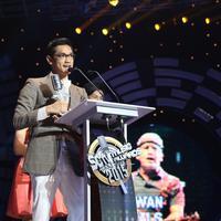 Afgan jadi penyanyi pria paling ngetop di SCTV Music Awards 2015 (Wimbarsana/Bintang.com)
