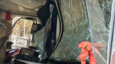 Kecelakaan kereta di Machu Piccu, Peru. (AFP)