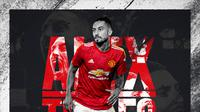 Pemain baru Manchester United, Alex Telles. (Dok. Manutd.com)