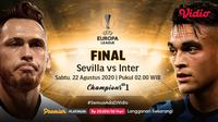 Babak final Liga Europa di Vidio. (Sumber: Vidio)