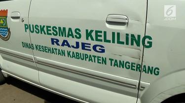 Polresta Tangerang bekerjasama dengan Dinas Kesehatan Kabupaten Tangerang untuk memeriksa kesehatan anak korban sodomi WS alias Babeh.